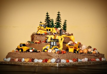 Astounding Construction Birthday Cake 360250 Planning Futures Funny Birthday Cards Online Alyptdamsfinfo